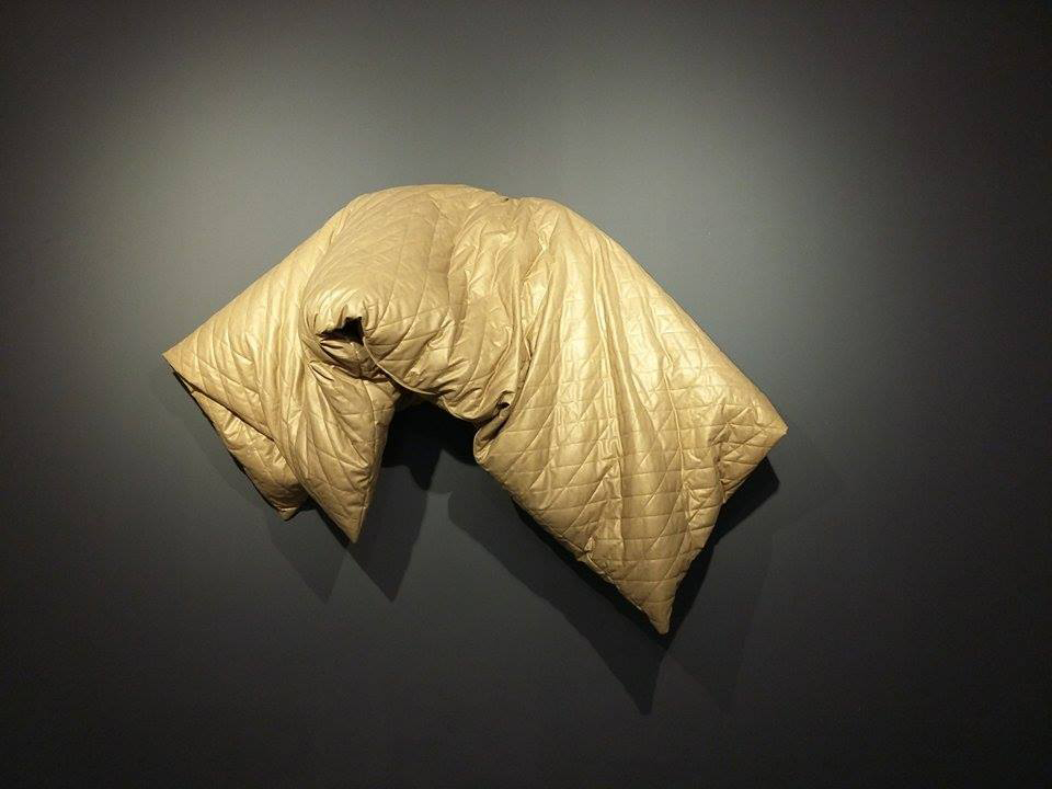 NAG Golden-Duvet, 2016, textile, 144x200, 56.6x78.7 in